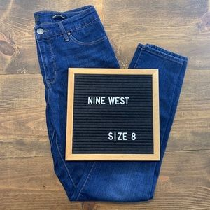 Nine West Cigarette High Rise Skinny Jeans